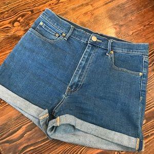 Blue Jean high waisted shorts